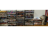 Over 110 DVDs