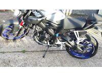 Yamaha mt 125 2016