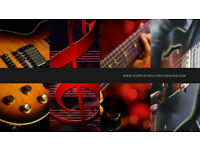 Complete Guitar Lessons - Rock/Blues & Jazz styles. Taught by one of the UK's finest tutors.