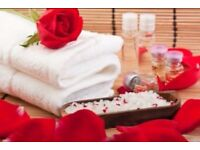 Special offer price's for 4 weeks! on all Massages and facial and body treatments