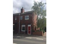 Spacious two bedroom unfurnished end terrace property to rent in popular location in Rothwell.