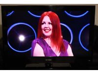 """42"""" TEVION W4274GGBFTCUPUK HD LCD TV WITH BUILT IN FREE VIEW IN GREAT CONDITION."""