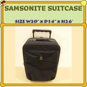 SAMSONITE SUITCASE - EXCELLENT CONDITION
