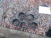 SALE !! 110mm Underground drainage - black plastic coupling extender seal joiner