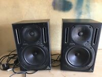 2x behringer truth 2030a system monitors