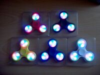 job lot of 50 led spinners