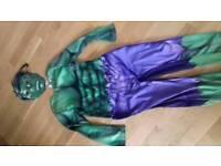 Hulk costume and mask