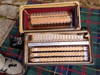 Fratelli Crosio Stradelli 5 Row Button Accordion