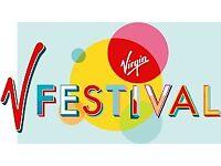 X2 V Festival tickets Weston Park £140 each, full weekend camping