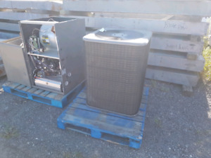Complete furnace and airconditioner.