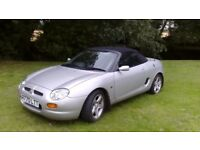 MG MGF 1.8L convertible 2Dr