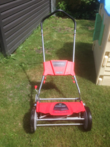 "Troy-Bilt REVOLUTION 18"" Mower - Mint shape"