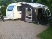 Kampa Ace AIR 400 PRO inflatable caravan porch awning & accessories