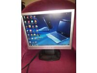 15'' lcd pc computer monitor in working order