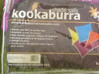 Kookaburra 3.6m triangle purple Waterproof shade sail