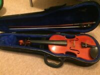 Violins, size 1/2, and 3/4 (1/4 has been sold)