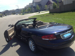Sebring Convertible w/ low kms & extra winter tires $3000 OBO