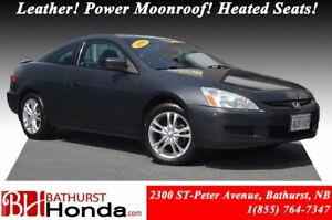 2005 Honda Accord Coupe EX-L Leather! Power Moonroof! Heated Sea