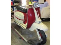 Eibar Lambretta Li 150, for sale. Nr Maidstone