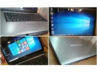CAN DELIVER fast multimedial and business laptop TOSHIBA Satellite, Windows 10 Pro, MS Office