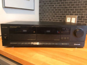 SHERWOOD DD-1030 Stereo Double Cassette Player