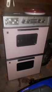 Vintage double oven