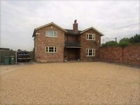 Large Double Workshop/offices and 3 bed detached house