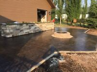 Commercial and residential concrete work, free quotes!