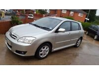 2006 TOYOTA COROLLA COLOUR COLLECTION 1.4, 1 KEEPER, 84,000 MILES, HPI CLEAR, 2 KEYS