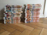 Naruto volumes 1-27 complete set