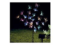 Solar butterfly tree