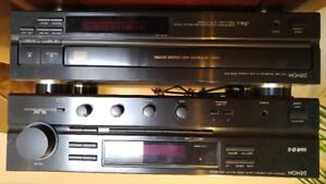 DENON RECEIVER AND ENERGY PRO SERIES 4.5 SPEAKERS