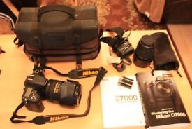 Nikon D7000 Digital Camera with Extras