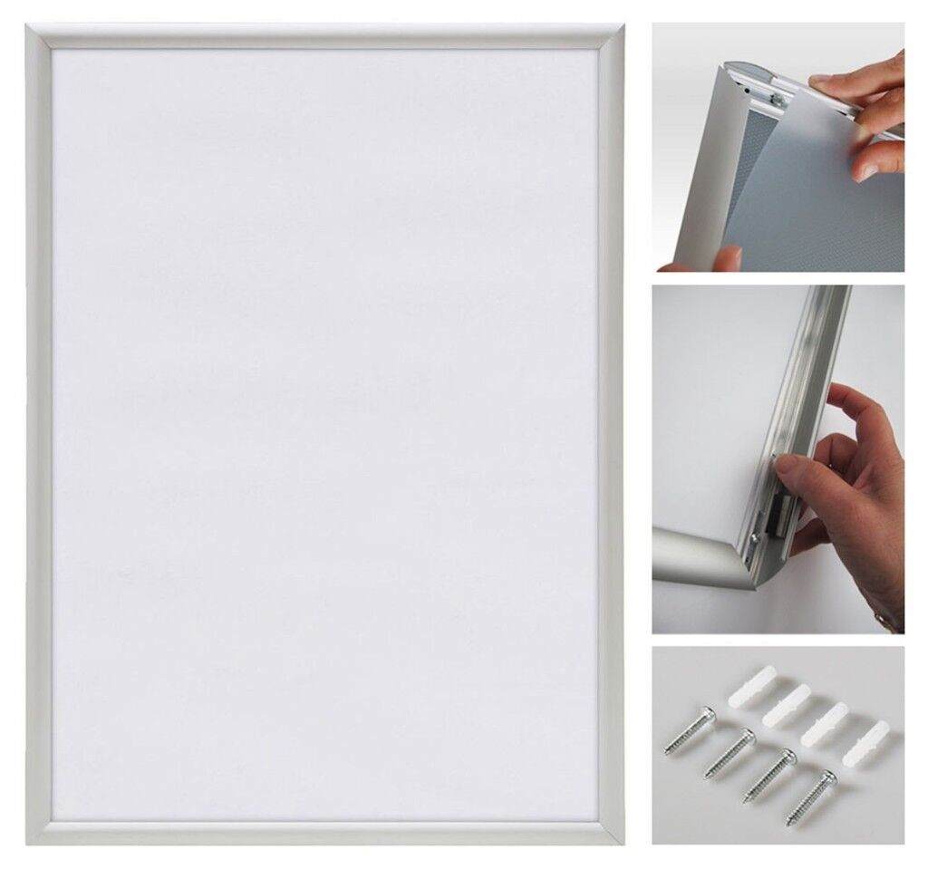 BRAND NEW AND BOXED - A1 Snap Frame / Poster Frame / Click Frame ...