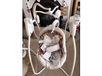 BABY items ... Graco baby swing , play ring