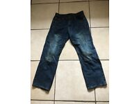 MOTORBIKE KEVLAR TROUSERS SIZE 32 SHORTS EXCELLENT CONDITION