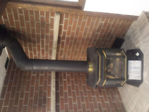 Nice Direct Vent Gas Fireplace $250obo