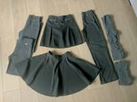 Girls Grey school wear - 8-9 years