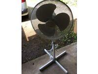 Free standing large fan