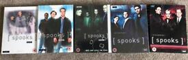 Spooks DVD Box Sets   Seasons 1-5