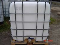 IBC Container - 1000 litres - on pallet