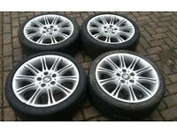 18 MV2 3 SERIES E46 E90 ALLOY WHEELS VW T5 T6 VIVARO TRAFFIC VAN