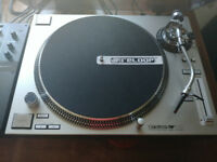2 x RELOOP RP 7000 Turntables, 2 x Ortofon Concorde Pro Cartridges and RELOOP Dust Covers ** MINT **