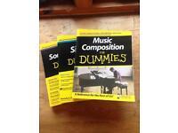"Music books ""for dummies"""