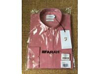 Brand New With Tags Farah Red Checked Shirt Medium