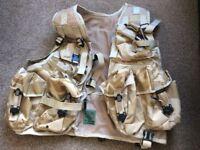 British Army issue Desert Assault Vest.