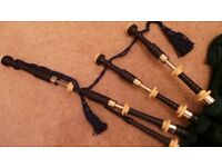 Very Eary Henderson Bagpipes