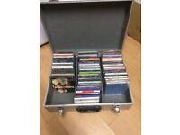 CD joblot (Ibiza Club, R&B, Kiss, Various Artists) Nearly 70 albums & singles with Aluminium Case