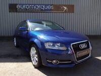 Audi A3 2.0 TDI SPORT 140PS (blue) 2012