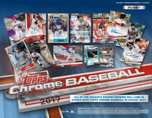 2017 Topps Chrome Baseball Now Available @ Breakaway